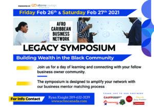 ACBN Legacy Symposium and Job Fair - Presented by Alterna Savings