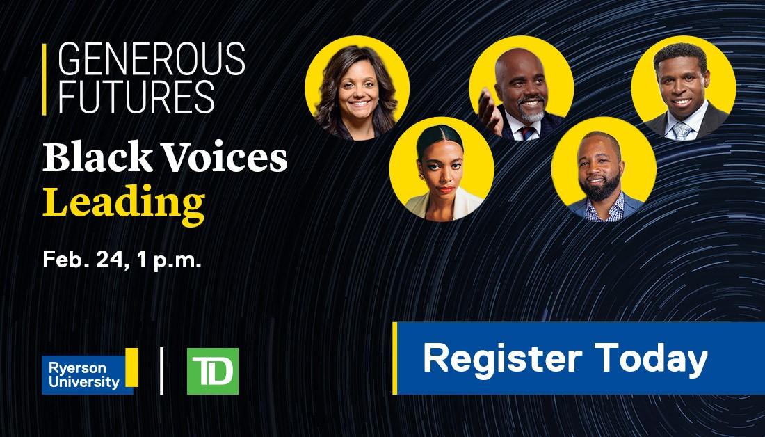 Generous Futures: Black Voices Leading